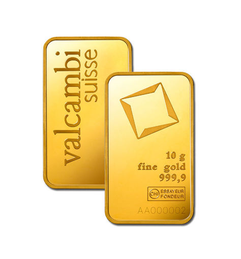 Picture of 10 g Minted Gold bar