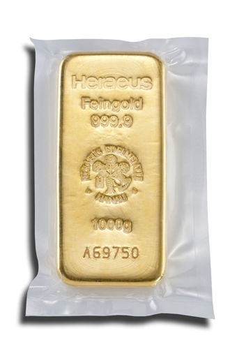 Picture of 1 kg Gold bar